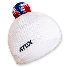 Pletená čepice KNIT bílá