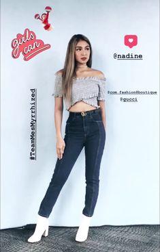 Nadine Lustre Fashion, Filipino Models, Filipina Actress, Jadine, Celebs, Celebrities, Best Actress, Strong Women, My Girl