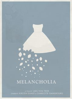 Melancholia...a beautiful film about the end of the world. Lars von trier is magnificent