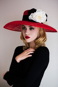 Olivia Roat Millinery, S/S 2013.  Like our Facebook page and share what is of interest to you https://www.facebook.com/WhitesandsSecretGarden
