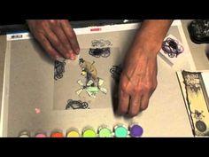 Stempeln auf Folie - YouTube