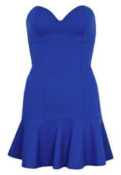 Vestido Colcci Slim   Loose Azul