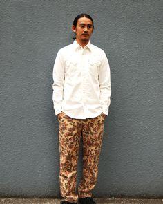 [TOPS] SD Denim Western Shirt PRICE : ¥19,000(+Tax) RELEASE : Feb.  [BOTTOMS] SD Camp Pants PRICE : ¥17,800(+Tax) RELEASE : Feb.