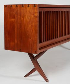 Rare and Exceptional George Nakashima Cabinet | From a unique collection of antique and modern cabinets at https://www.1stdibs.com/furniture/storage-case-pieces/cabinets/