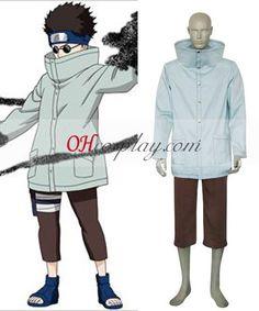 Naruto Aburame Shino 1st Cosplay Costume
