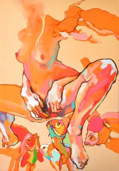 Oil on canvas  100/70 cm