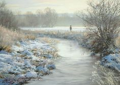 Peter Barker painting  UK