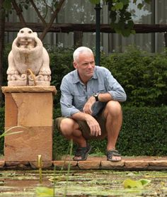 Photo credit: IconFilmsUK x (This file originally posted by Zeghibe & Rhodes) John Wade, Jeremy Wade, River Monsters, The Man, My Idol, My Hero, Actors, Animals, Rhodes