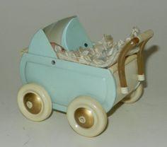 Sammlungsauflösung: Fiedler&Podey Puppenwagen Celluloid + Minerva Baby 50erJahre