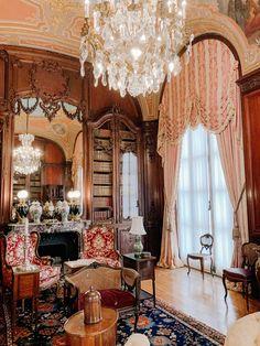 Alva Vanderbilt, Mansion Tour, Marble House, Living In Boston, Chatsworth House, White Paneling, Newport, Rhode Island, Interior Design Living Room