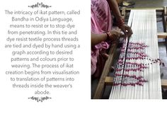 Buy Design Dialogues by Pankaja Sethi Ikat-Bandha Sarees from Odisha Online at Jaypore.com #mystatewithjaypore