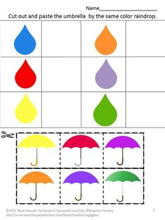 Items similar to Weather Math Literacy Centers Cut Paste Special Education Math Kindergarten Preschool Fine Motor Daycare Alphabet Counting Color Matching on Etsy Kindergarten Special Education, Kindergarten Prep, Kindergarten Math Worksheets, Math Literacy, Literacy Centers, Weather Worksheets, Autism Preschool, Preschool Learning Activities, Alphabet Activities