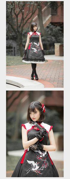 Qi Lolita dress (2015) from Taobao indiebrand
