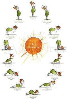 Yoga - Saludo al sol :)