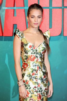 'Tomb Raider' London Premiere - Red Carpet Fashion Awards