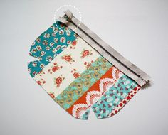 How to make tutorial vintage cosmetic bag purse.  DIY step by step tutorial instruction.  Винтажная сумочка-косметичка. МК.