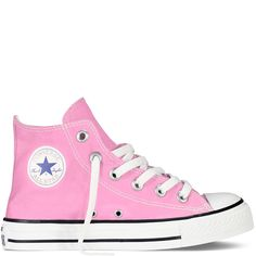 Converse - Girls' CT AS Classic Hi Canvas Sneaker (Little Kid) - Pink