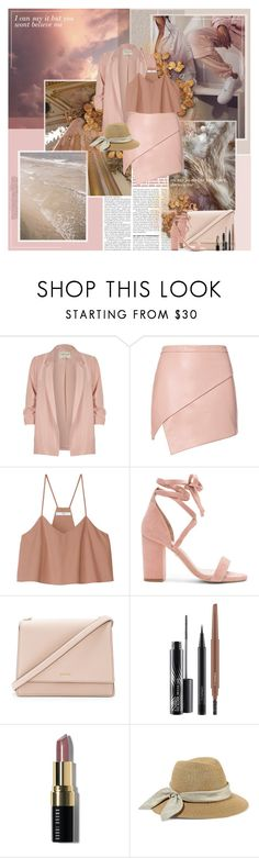 """It's hard to know that you still care"" by mary-elizabeth-x ❤ liked on Polyvore featuring Oris, River Island, Michelle Mason, TIBI, Raye, Kate Spade, MAC Cosmetics, Bobbi Brown Cosmetics and Eugenia Kim"