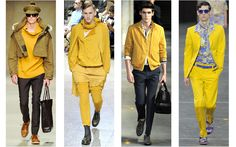 Yellow – The new trend in men's clothing