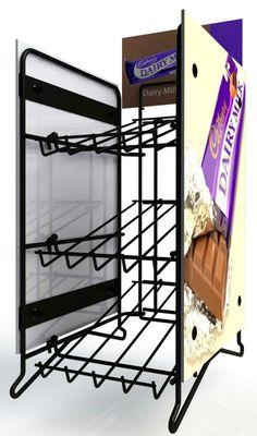 Permanent counter top metal display rack (HM000050) - China metal display rack, Heima Advertising Services, Countertops, China, Display, Metal, Floor Space, Vanity Tops, Billboard, Countertop