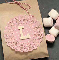 Packaging bonitos con bolsas de papel