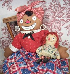 Beloved Belindy- Raggedy Ann and Andy