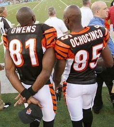 #81 Terrell Owens & #85 Chad Johnson