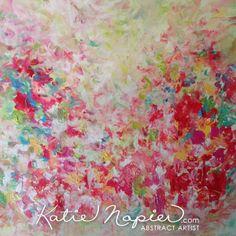 'Spring 12' Original Vancouver Abstract Art - - Katie Napier Abstract Artist #art #abstractart #originalart #modernart
