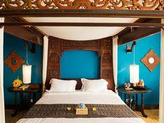 Bale Bengong in Villa Lumbung in Seminyak op Bali. Te boeken bij ...