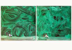 les petites têtes de l'art: D'après Wilhem Sasnal