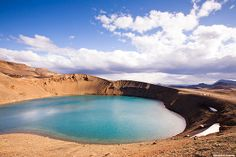 Víti / Hell - Krafla volcano, north Iceland