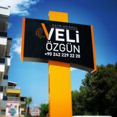 Antalya Tabela Reklam Totem