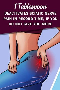 1 Tablespoon Deactivates Sciatic Nerve Pain In Record Time, If You Do Not Give You More - Healthy Life Team Herbal Remedies, Health Remedies, Home Remedies, Natural Remedies, Natural Treatments, Health And Wellness, Health Tips, Health Care, Hair And Beauty