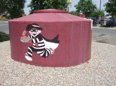 McDonald's Hamburglar character steals imaginary food from other characters. The company steals real wages from its workers. / Fast Food Franchise Owners Ask Congress For Help To Stop Worker Campaign For Wages, Union.  In other words, Government is bad, unless it's doing stuff for business...