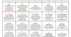 Preschool - April.pdf Preschool Lesson Plans, Preschool Curriculum, Preschool Themes, Preschool Kindergarten, Classroom Themes, Preschool Alphabet, Homeschooling, Learning Time, Kids Learning