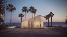 Polycarbonate Cabin Allows the Light In Through Walls, by D44 Architecture
