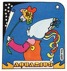 peter max     aquarius by Al Q