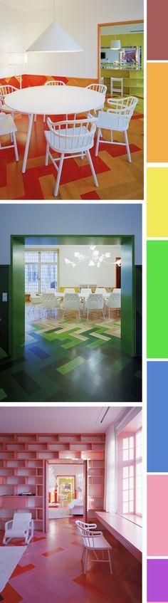 multicolor flooring