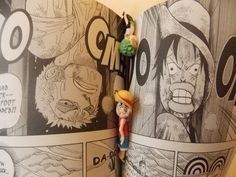 Luffy and Zoro - One Piece One Piece Manga, Sanji One Piece, One Piece Fanart, Anime Meme, One Piece Shirt, One Piece Funny, Film Manga, Manga Anime, Funny Humor