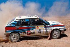 Lancia Delta HF 4WD/Integrale - WRC 1988 Miki Biasion