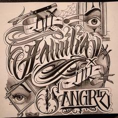 """Random sketch """" mi familia mi sangre"""". #tatuaggio #tatuaje #inked #instatattoo #tttism #tattoolife #amazingtattoo #instatattoo…"""