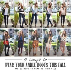Merricks Art: CLOSET ESSENTIALS, PART 1 // LEATHER ANKLE BOOTS  Wrong and Right