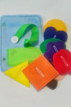 Button snake quiet book page which can be added to other pages to create the…