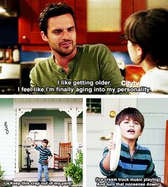 Haha! New Girl is hilarious :)