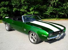 1969 Chevrolet Camaro.... JUST like mine--------- I miss her!