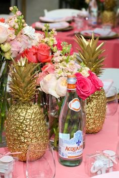 The Glam Pad: An Elegant Palm Beach Baby Shower, By Luxe Report Designs