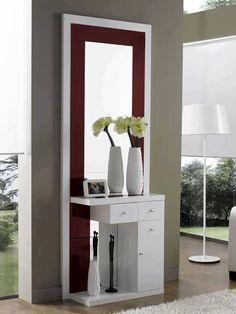 modern console table design ideas with mirror 2019 Home Decor Furniture, Furniture Design, Modern Dressing Table Designs, Bedroom Dressing Table, Console Design, Modern Console Tables, Bedroom Wardrobe, Interior Decorating, Interior Design