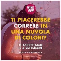 """Adriano Salvi : """"Canelli Wine Run"""" sabato 3 settembre un simpatico..."""