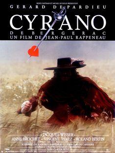 Cyrano de Bergerac est un film français réalisé par Jean-Paul Rappeneau et sorti en 1990. https://fr.wikipedia.org/wiki/Cyrano_de_Bergerac_(film,_1990)