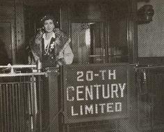 coco chanel boarding the 20th century limited, ca. 1920